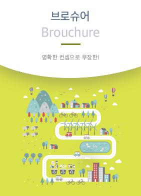 브로슈어 Brochure 명확안 컨셉으로 무장한!